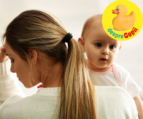 Depresia postnatala a fost cosmarul din care cu greu m-am trezit - confesiunile unei mamici