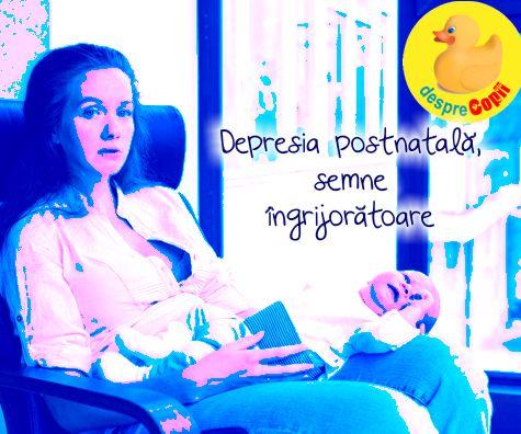 Depresia postnatala, semne ingrijoratoare