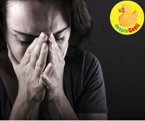 Depresia post-partum, o conditie medicala ascunsa sub presul ignorantei si al prejudecatilor