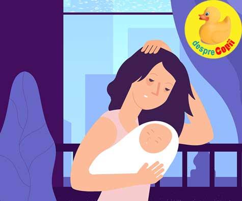 Greselile mamicilor dupa cezariana: sa nu stii ce e depresia postpartum este periculos