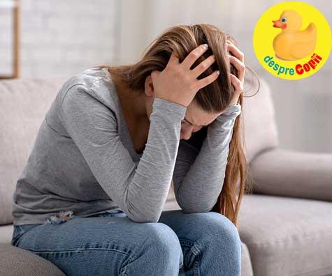 Baby blue / depresie postpartum la 4 ani după naștere?