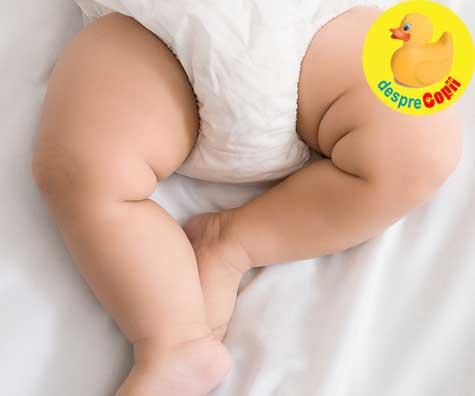 Deshidratarea la bebelusi: verifica schema normala de urina la bebelusi