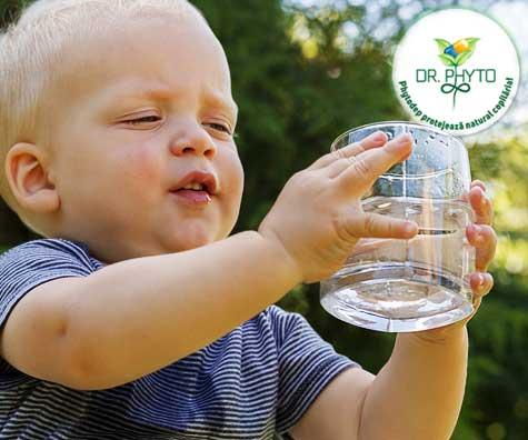 Deshidratarea copilului - cum o identificam si ce trebuie sa facem?