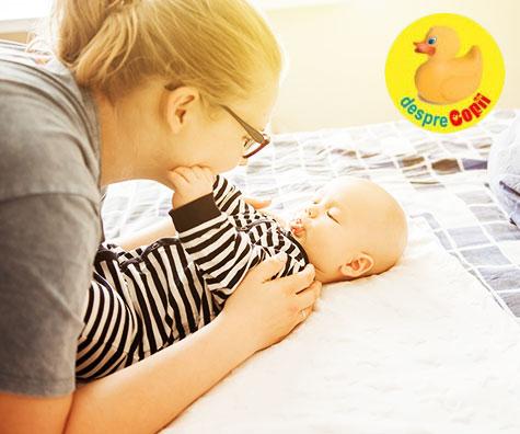 Dezvoltarea senzoriala a bebelusului - importanta celor 5 simturi