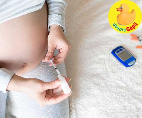 Glicemia si diabetul in sarcina: nivelurile normale - DIAGRAMA