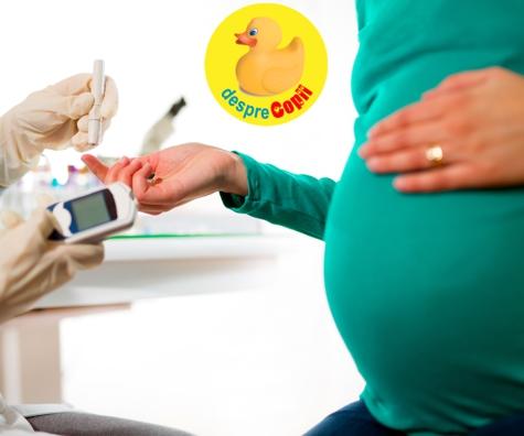 Diabetul de sarcina: cauze,simptome si complicatii care pot aparea daca nu este tratat