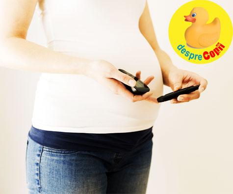 Ce inseamna diabetul de sarcina? Poate afecta bebelusul?
