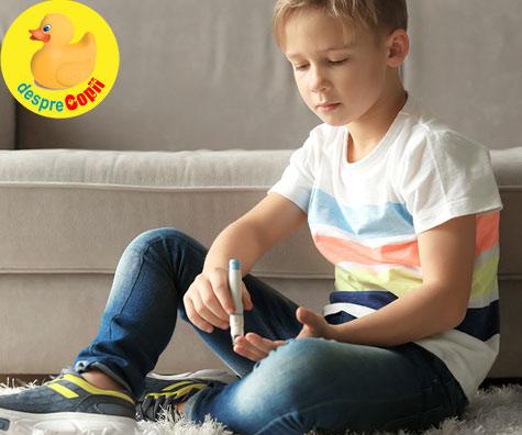 Copilul meu a fost diagnosticat cu diabet de tip 1. Ce trebuie sa stiu?