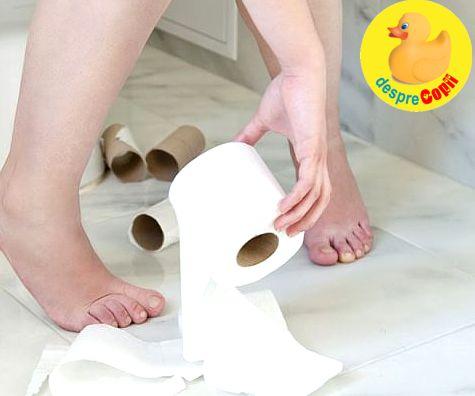 10 remedii pentru diaree - in caz de nevoie