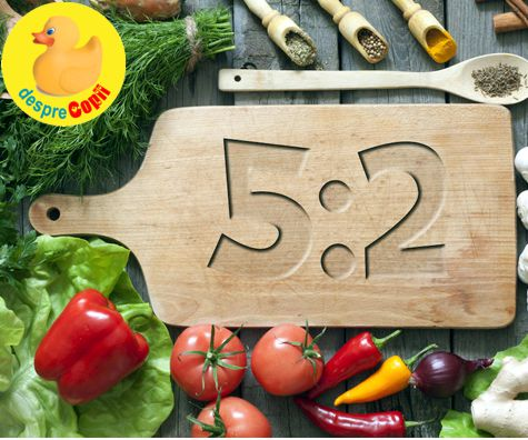 Dieta 5cu2 - cum scapi cu eforturi minine de niste kilograme in plus