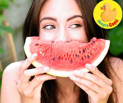 Dieta cu pepene rosu: detox si reglare hormonala