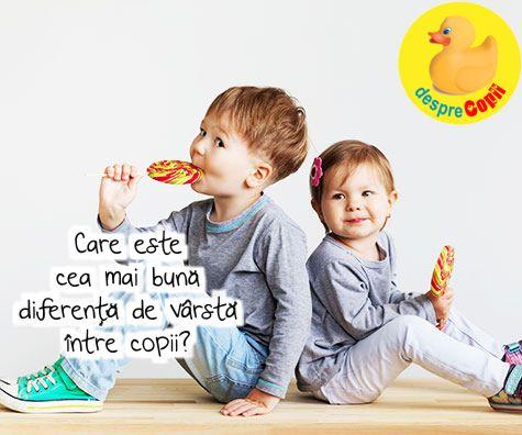 Dilema mamicilor: care este cea mai buna diferenta de varsta intre copii?