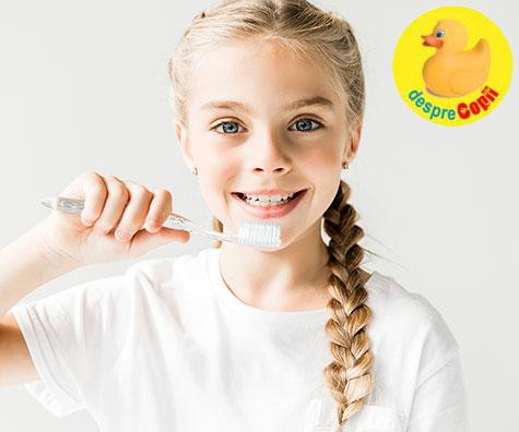 Fluorurile si dintii copilului