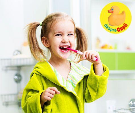 Sanatatea dentara a copilului: 10 mituri si realitati