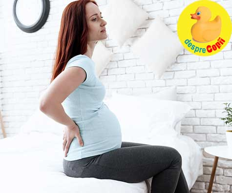 Sursele frecvente de disconfort in sarcina