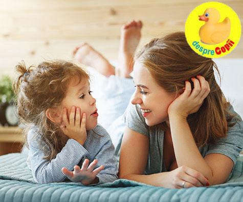 Rutina si importanta discutiilor cu copilul