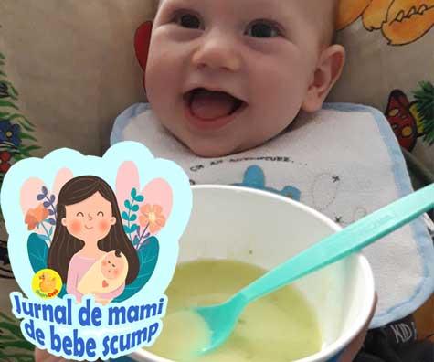 Am inceput diversificarea lui bebe cu pasi marunti si sunt foarte interesata de acest subiect - jurnal de mami de bebe scump