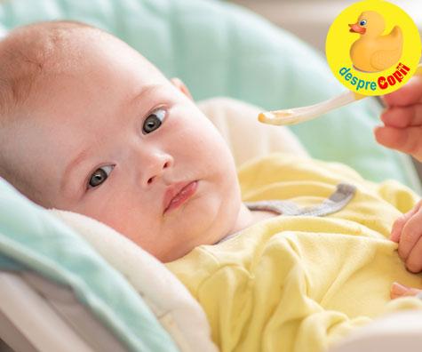 Diversificarea bebelusului: Mamici, nu incepeti diversificarea bebelusului mai devreme de 5 luni - iata care sunt riscurile de sanatate