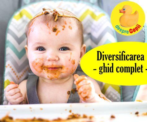 Diversificarea bebelusului: un ghid de reguli si retete pentru fiecare luna