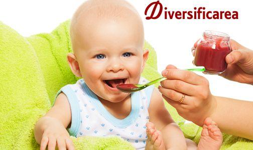 Diversificarea la Bebelusi: reguli, retete pe varsta si pe alimente