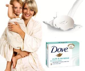 Spalatul pe maini, o activitate distractiva cu Dove Pure & Sensitive