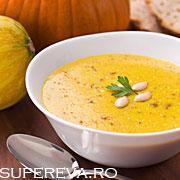 Supa crema de dovleac pumpkin