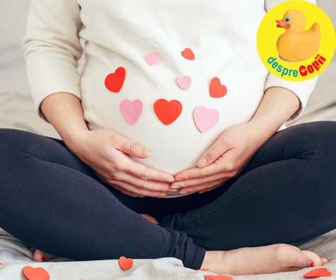 Consult in saptamana 16, chiar de Dragobete - jurnal de sarcina
