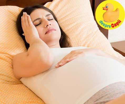 Cand durerile de cap in timpul sarcinii pot anunta probleme ale sarcinii care necesita atentie imediata - sfatul medicului