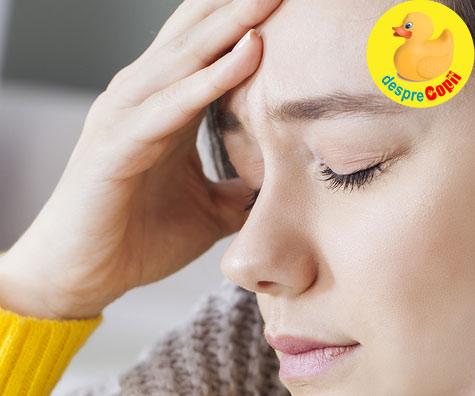 Iata de ce apar dureri de cap in sarcina si iata ce medicament poti lua