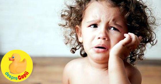 Durerile de urechi ale copiilor