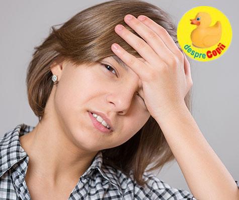 7 lucruri importante atunci când copilul se plânge de dureri de cap
