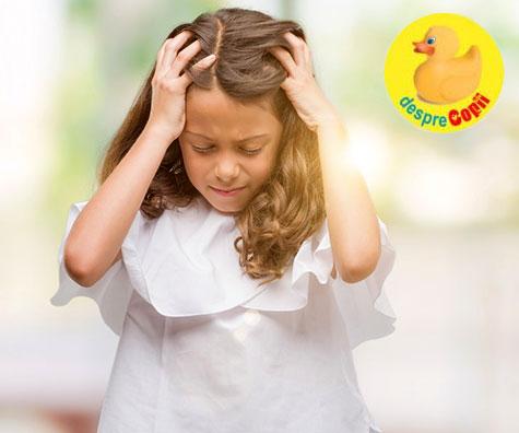 Copiii trebuie sa fie incurajati sa spuna cand au dureri de cap