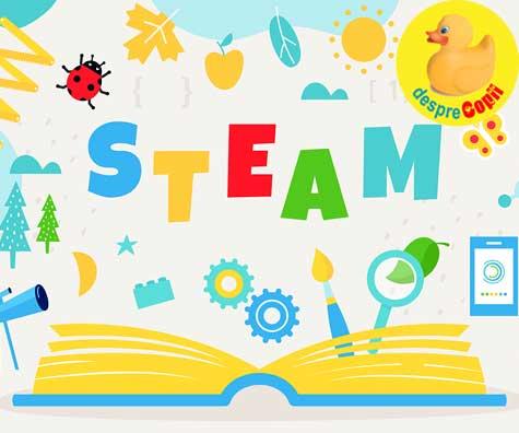 Educatie STEAM - activitati inteligente pentru copii ce dezvolta interesul pentru stiintele exacte si tehnologie