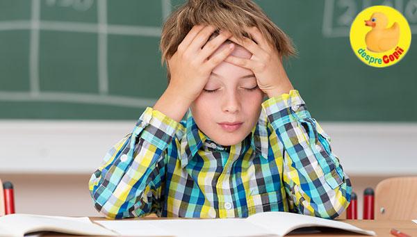 Despre durerile de cap la copii | Ce trebuie să știti
