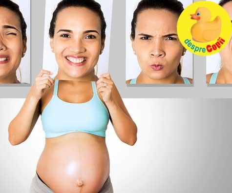 Emotii de tot felul in saptamana 33 - jurnal de sarcina