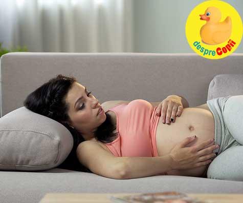 22 de saptamani pline cu emotii si griji - jurnal de sarcina