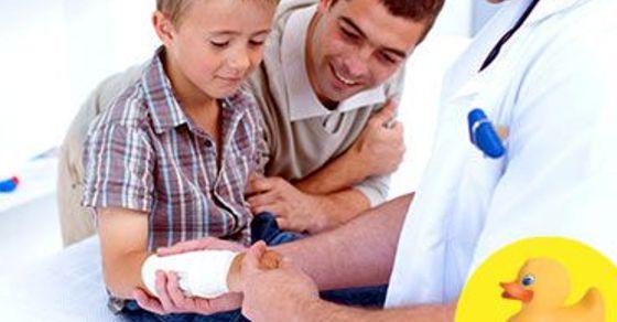 Fracturi si entorse: cum acordam primul ajutor copiilor
