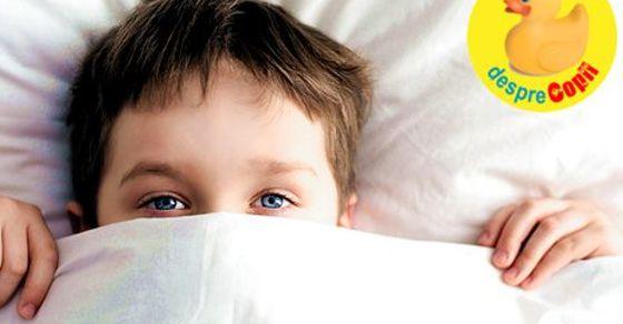 Cand scapam de scutecul de noapte: despre rabdare, calm si Enurezis