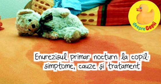 Enurezisul primar nocturn la copil: simptome, cauze si tratament