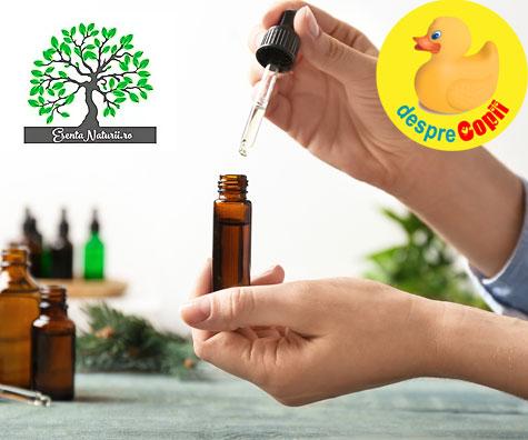 Uleiurile esentiale - esenta naturii intr-o picatura de terapie