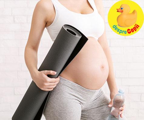 Este permisa activitatea fizica in timpul sarcinii? - raspunsul medicului