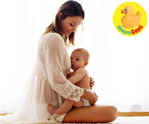 Alaptarea bebelusului traita prin etapele de emotii si intrebari ale unei mame
