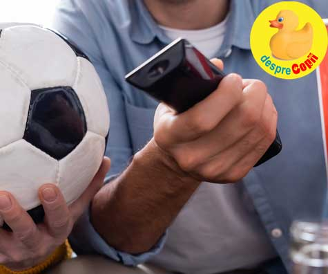 Euro 2020 vazut din toaleta - jurnal de tatic