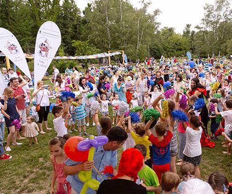 Peste 250 de familii au participat la picnicul organizat weekendul acesta in Parcul Herastrau