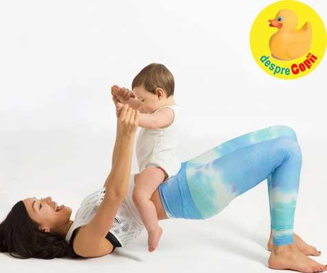 La cat timp dupa nastere putem incepe exercitiile fizice ? Lupta cu kilogramele in plus.