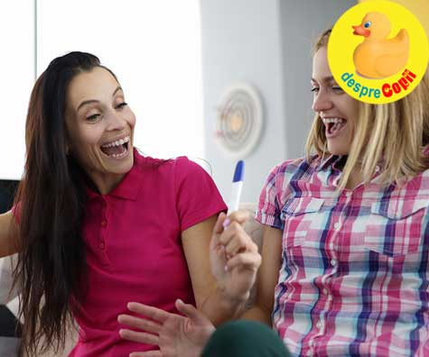 Cum a aflat familia de a treia sarcina - jurnal de sarcina