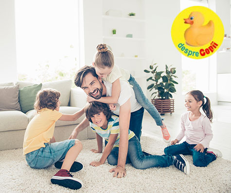 Avantajele si dezavantajele unei familii numeroase