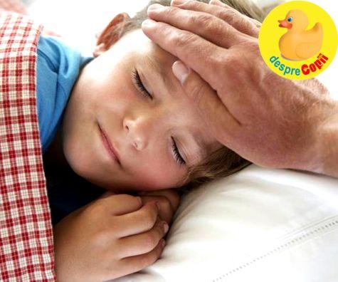 Febra la copil: cum ajuta febra la uciderea bacteriilor care cauzeaza boala