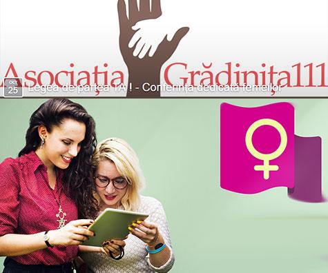 Legea de partea TA ! - Conferinta dedicata femeilor