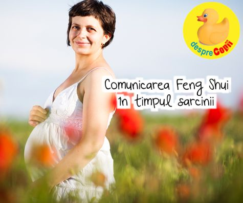 Comunicarea Feng Shui in timpul sarcinii. Poti sa iti incarci bebelusul cu energie pozitiva si chiar sa il rogi sa se pozitioneze corect inainte de nastere.